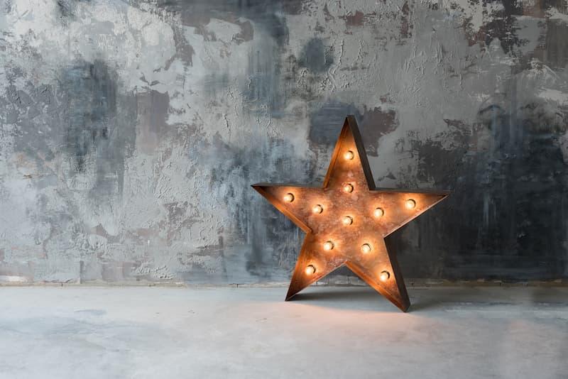 decorar navidad estilo industrial